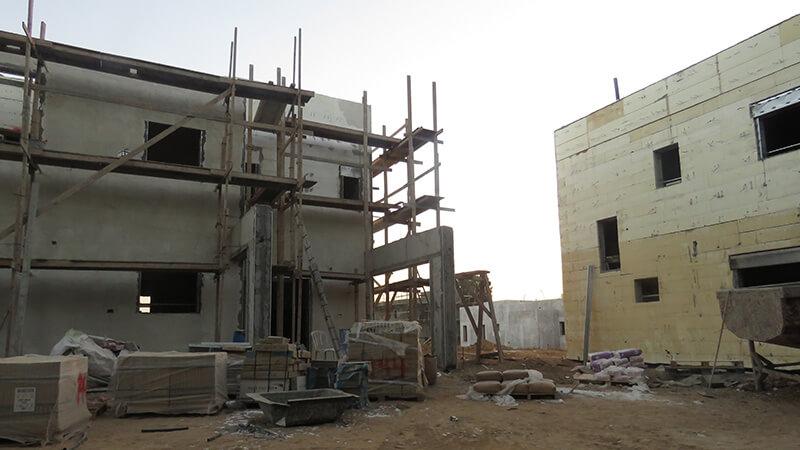 הבנייה-בשכונה-החדשה-של-קיבוץ-נחל-עוז1